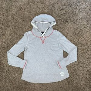 Tommy Hilfiger gray long sleeve pullover hoodie l